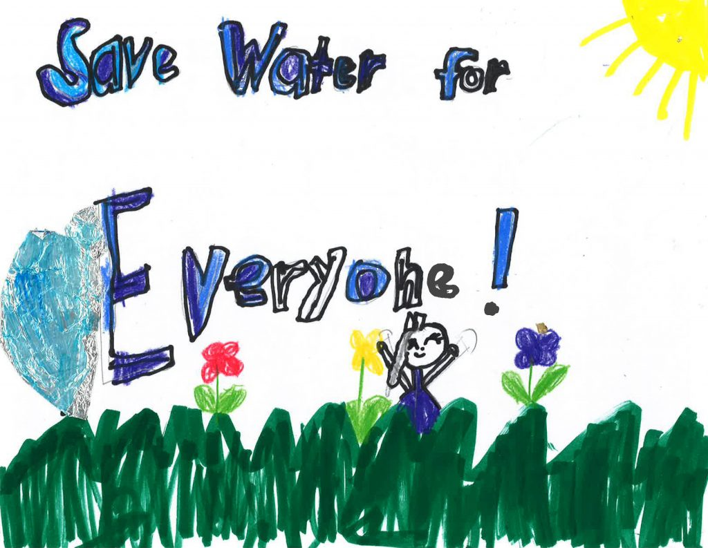 Amerie Constantino, Grade 1, Wolf Canyon Elementary School (second place; K-3 category)