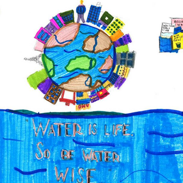 Winners of Student Poster Contest Illustrate the Importance of Water-Use Efficiency