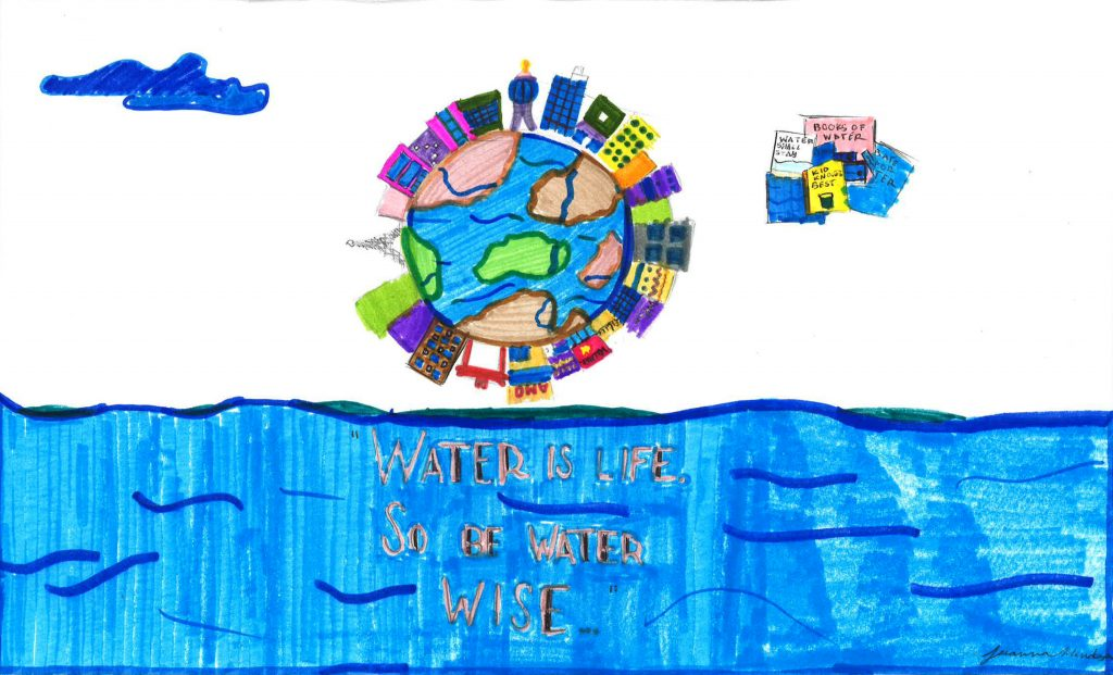Jeeanna Mendoza, Grade 3, Camarena Elementary School (first place; K-3 category)