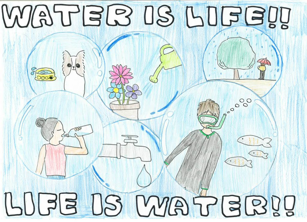 Rin Smith, Grade 5, Wolf Canyon Elementary School (third place; 4-6 category)